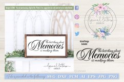 The Best Thing About Memories SVG Cut File LL039A Product Image 1