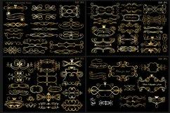Set of decorative elements and frames. Vintage. Product Image 1