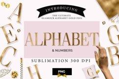 Alphabet gold, gold letter Product Image 1