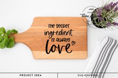 The Secret Ingredient is Always Love SVG Product Image 5
