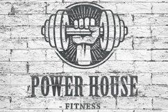 Retro Gym | Logo Templates Product Image 3