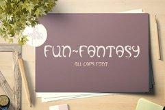 Fun-Fantasy - all caps display font, OTF, TTF Product Image 4