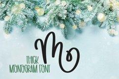 Web Font Thick Monogram Font - A-Z Letters Product Image 5