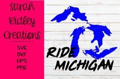 Ride Michigan Snomobile SVG Product Image 3