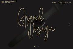 Masstro Signature Typeface Product Image 2