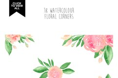 173 summer watercolor flowers Product Image 5