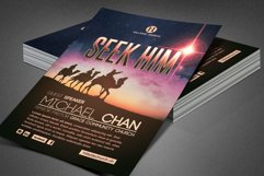 Seek Him Church Flyer Template Product Image 3