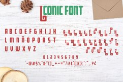 Merry Xmas CLIPART and FONT Product Image 3