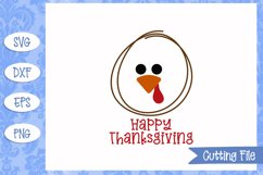 Happy Thanksgiving SVG File Product Image 1