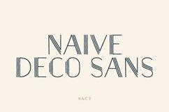 Naive Deco Sans Family Product Image 1