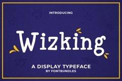 Web Font Wizking Product Image 1