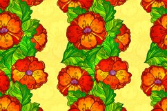 8 red poppy flowers backgrounds Product Image 5