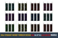 30oz STRAIGHT Skinny Tumbler Sublimation, Templates. Product Image 3