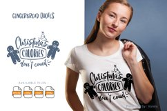 Christmas Calories Don't Count | Lettering Quotes Product Image 1