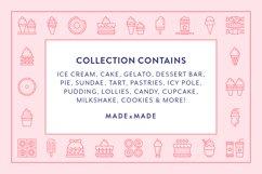 Line Icons - Dessert Product Image 2