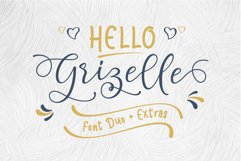 Hello Grizelle Font Duo Product Image 1