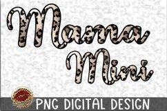 Sublimation Mama and Mini Leopard Design Product Image 1