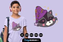 animal sleeping cap for T-Shirt Design Product Image 1