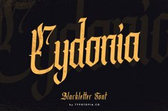 Cydonia - The Blackletter Font Product Image 1