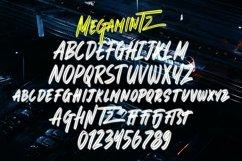 Web Font Megamintz - Inline Brush Font Product Image 6