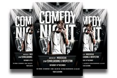 Comedy Show Flyer Template Product Image 1