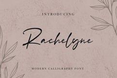 Rachelyne - Modern Calligraphy Font Product Image 1