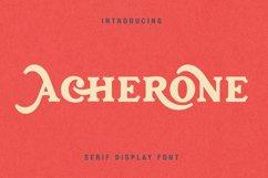 Archerone - Serif Display Font Product Image 1