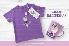 Collection of dancing ballerinas Product Image 3