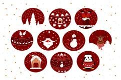 Christmas balls svg, Christmas graphics Product Image 2