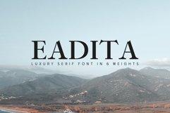 Eadita Luxury Serif Font Family Product Image 1