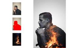 Double Exposure Photoshop Action Product Image 4