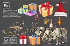 Christmas overlay & Glitter overlays, Photoshop overlay Product Image 5
