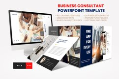Business - Consultant Finance PowerPoint Template Product Image 1