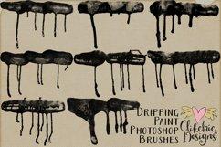 Dripping Paint Photoshop Brushes Product Image 4