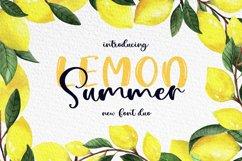 Lemon Summer Font Duo Product Image 1
