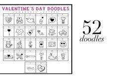 Valentine - Valentine's Day Doodle Font  Product Image 3