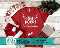Pregnancy Announcement svg | Baby announcement, Oh deer svg Product Image 5