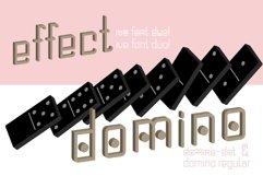 Domino-dot monospace san serif font duo Product Image 2