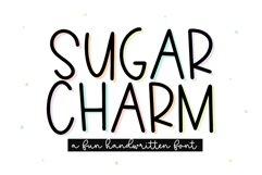 Sugar Charm - A Fun Handwritten Font Product Image 1