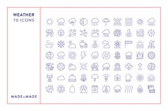 Line Icons - Weather Product Image 6