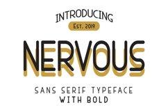 Nervous Sans Serif Product Image 1