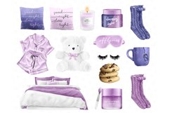 Morning clipart, fashion illustrations, morning routine plan Product Image 5
