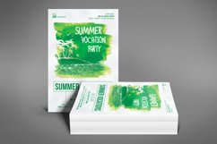 Summer Vocation Party Flyer Product Image 4