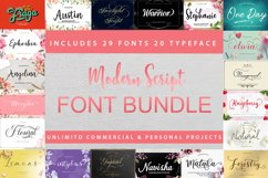 Modern Script Font Bundle Product Image 1