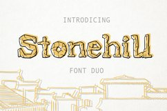Stonehill Duo Font. Product Image 1