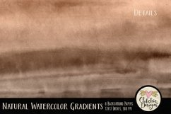 Watercolor Background Textures - Natural Gradient Papers Product Image 4