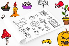 Halloween collection. Patterns, Elements, Posters Product Image 8