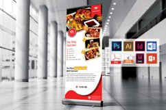 Restaurant Roll Up Banner Vol-03 Product Image 4