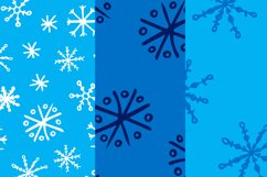 Christmas bundle with snowflakes and patterns Product Image 6