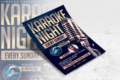 Karaoke Night Flyer Product Image 3